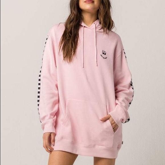 926bc0284b Vans X Lazy Oaf Pink Hoodie
